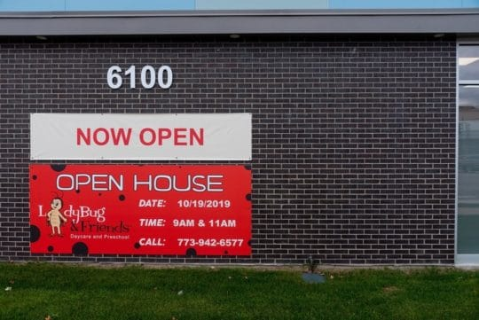 Open House at Lincoln & Jersey at Ladybug Daycare and preschool in Chicago